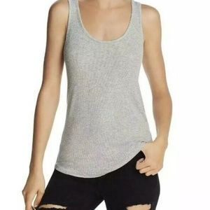 Splendid Womens Tank Top Size Small Solid Gray